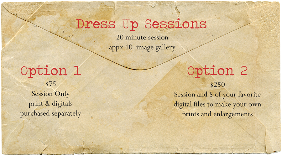 Dress Up Sessions